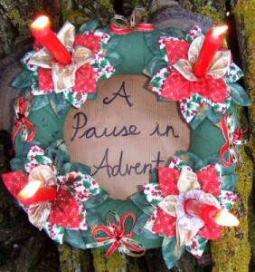 Pause in Advent Logo